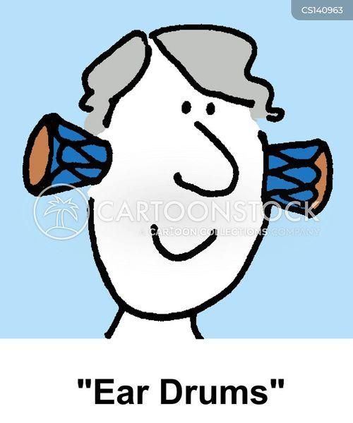 eardrum cartoon