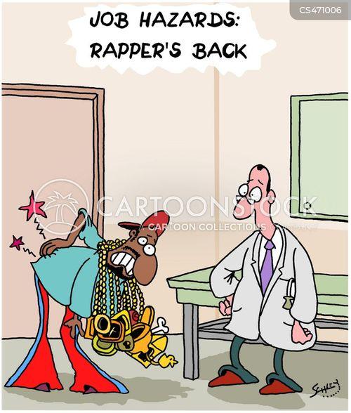 rap artists cartoon