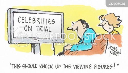 viewing figures cartoon