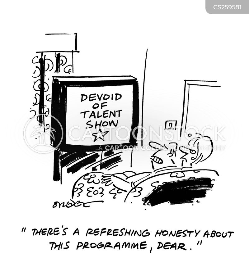 reality television show cartoon