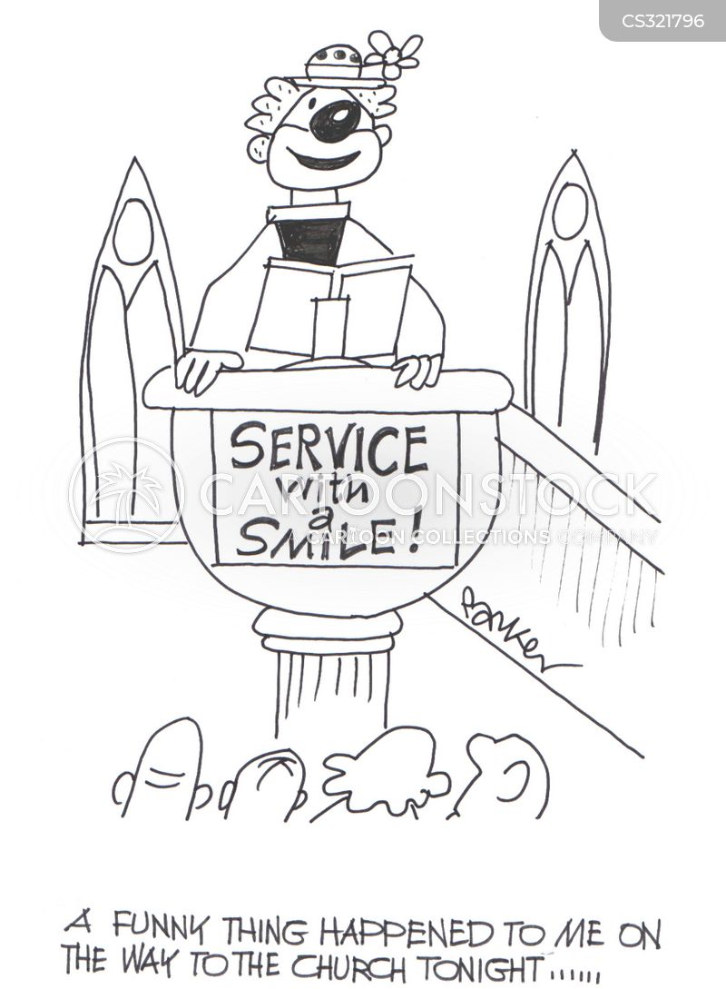 Pulpits Cartoons and Comics - funny pictures from CartoonStock