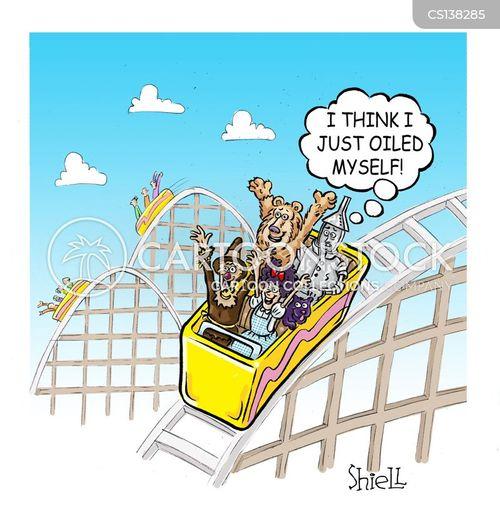 rollercoasters cartoon