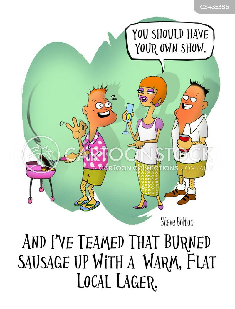 food show cartoon