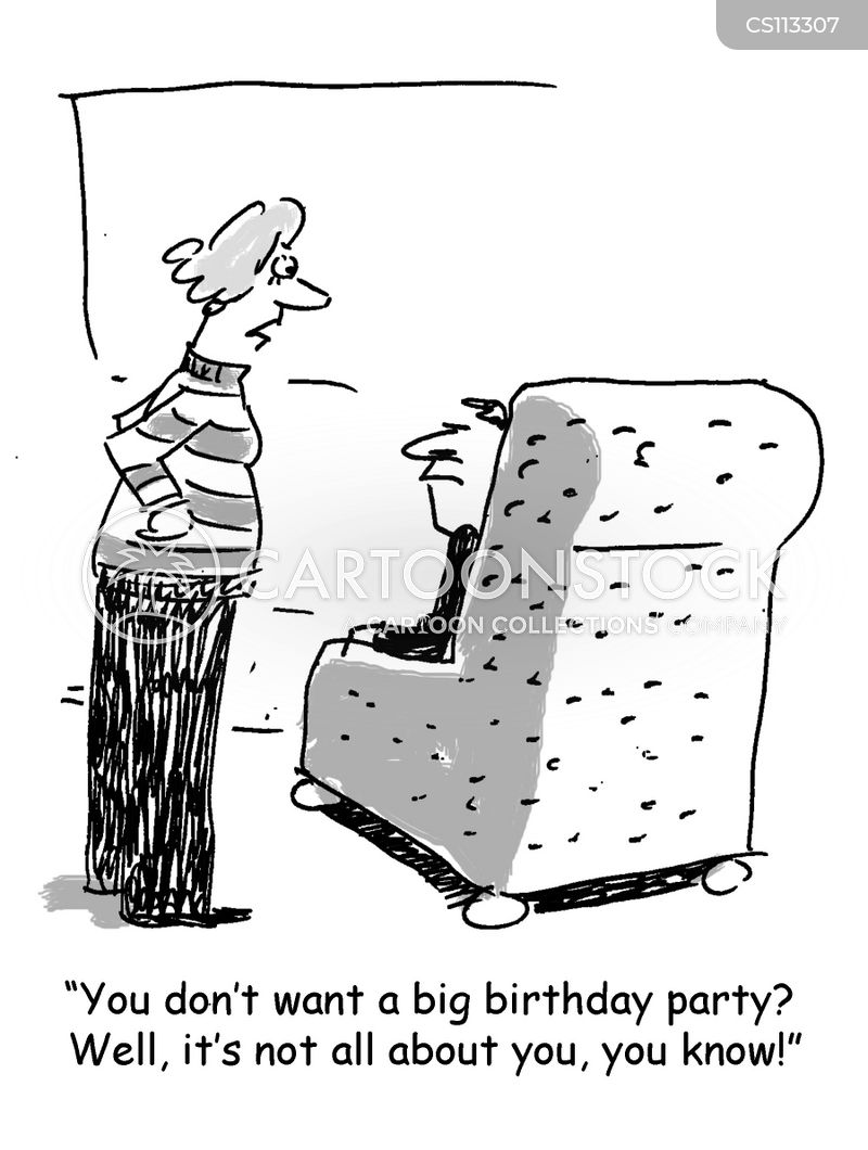 birthday celebrations cartoon