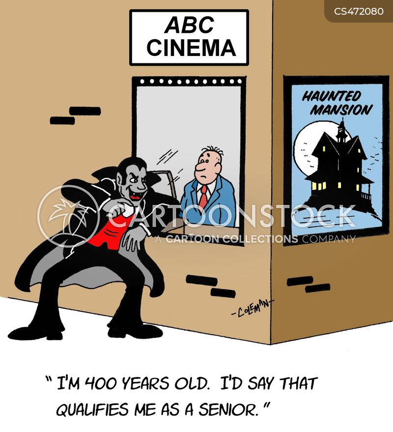 senior discount cartoon
