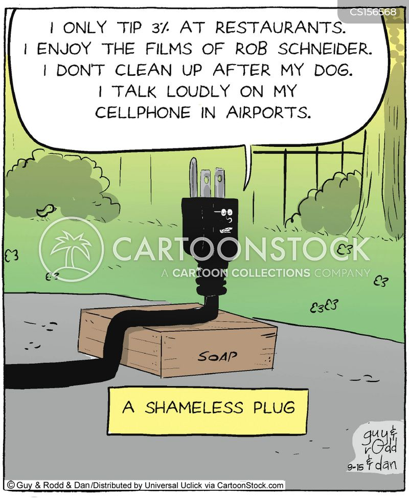 shamelessness cartoon
