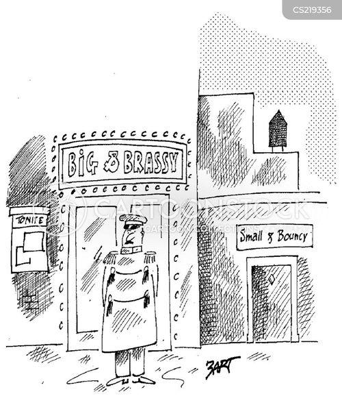 door man cartoon