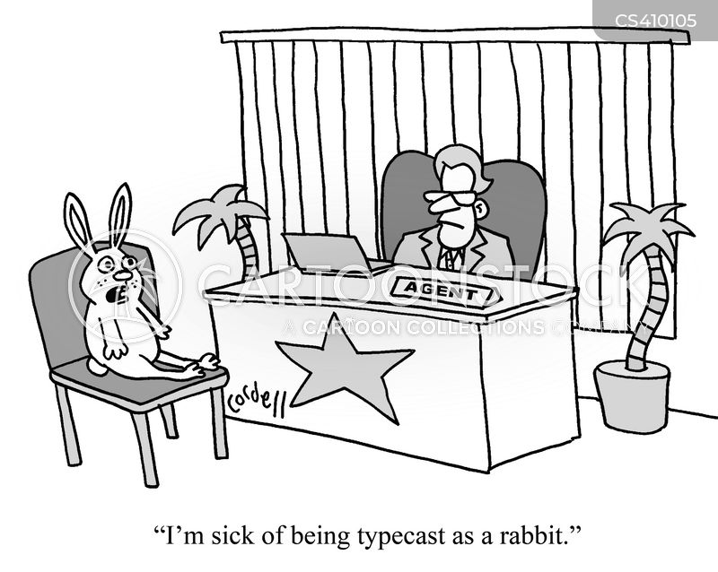 typecasting cartoon