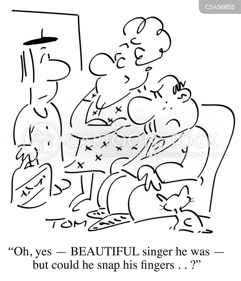 choir boy cartoon