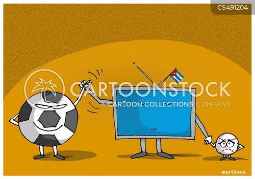 national sport cartoon