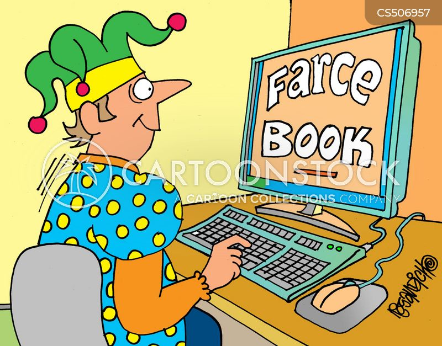 farce cartoon