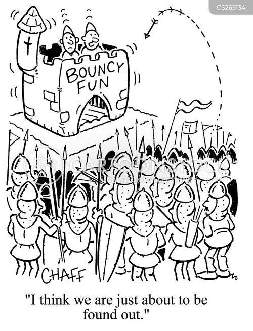 puncturing cartoon