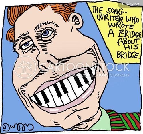 dental bridges cartoon