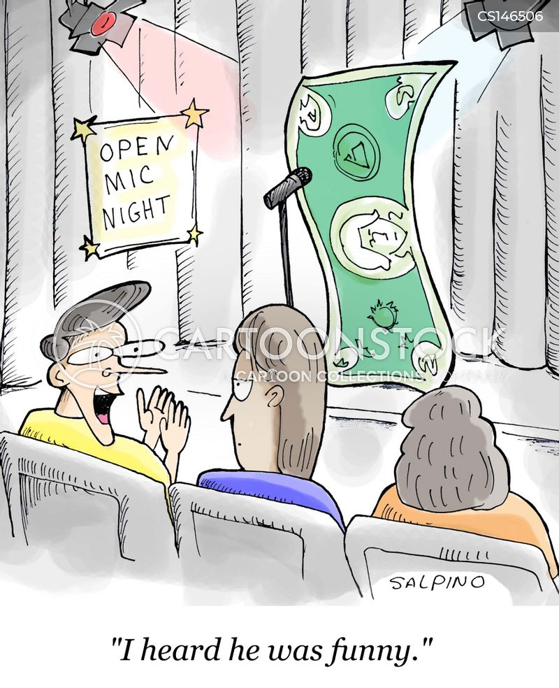 open mics cartoon