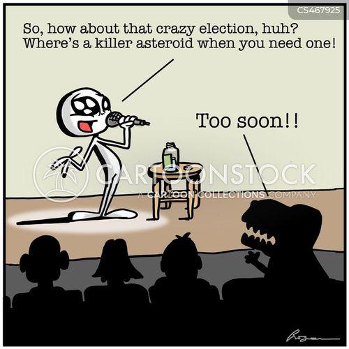 too soon cartoon