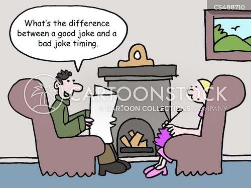 punch-line cartoon