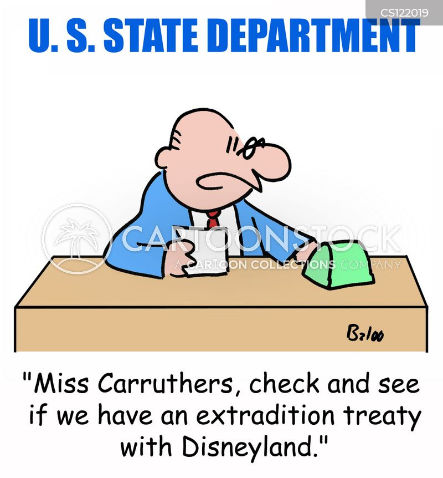extradition treaty cartoon