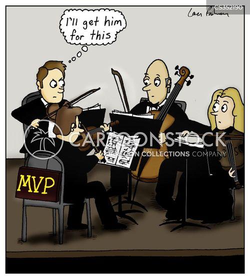 quartets cartoon