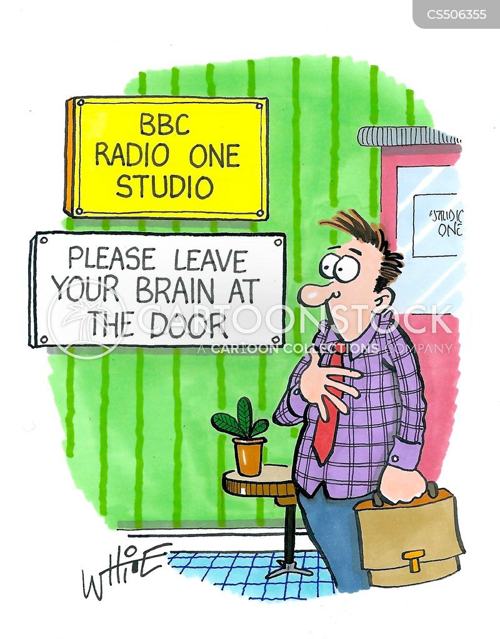 banal cartoon