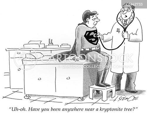 fatal weaknesses cartoon