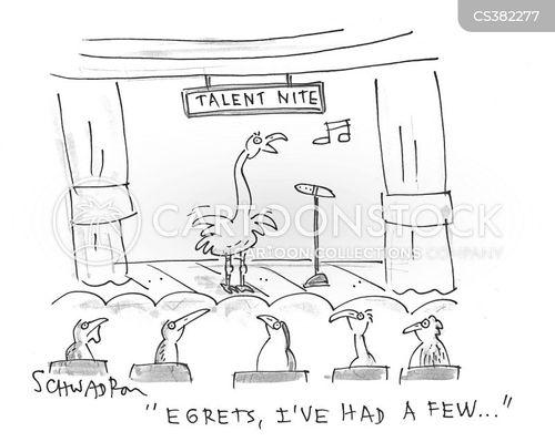open mic nights cartoon