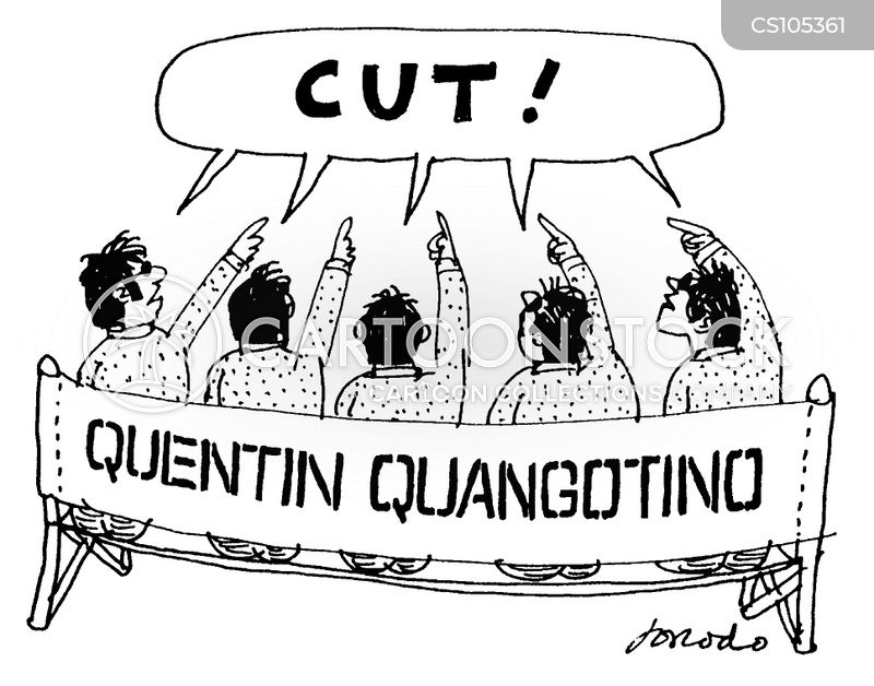 quentin tarantino cartoon