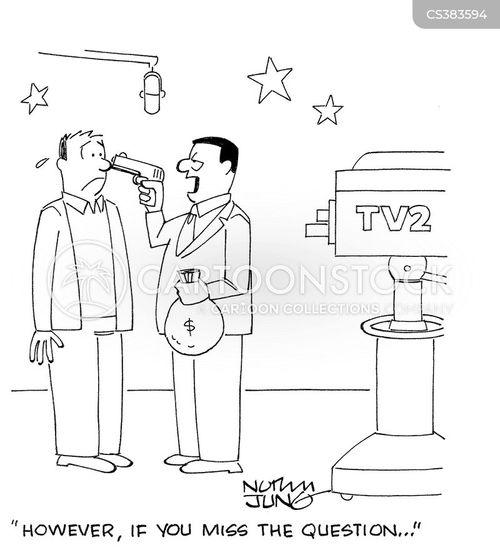 quiz program cartoon