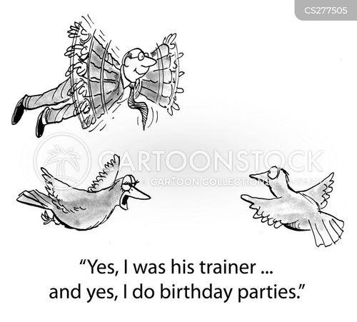 avian cartoon