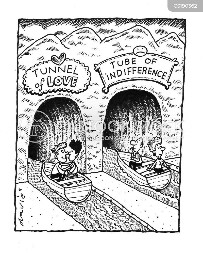 the tunnel of love cartoon
