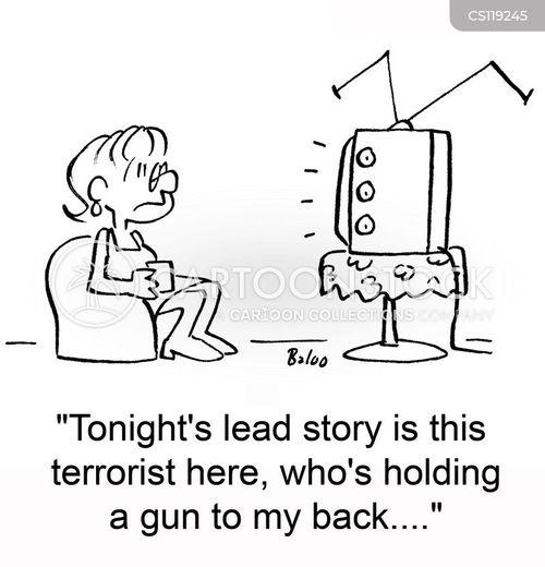 violence on tv cartoon