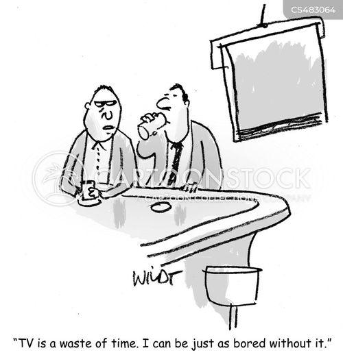 tv listing cartoon