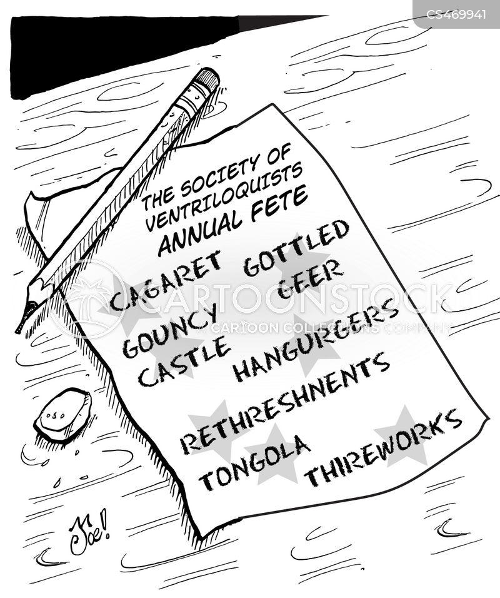 cabaret cartoon