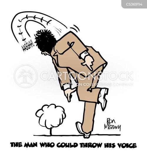 vocal cords cartoon