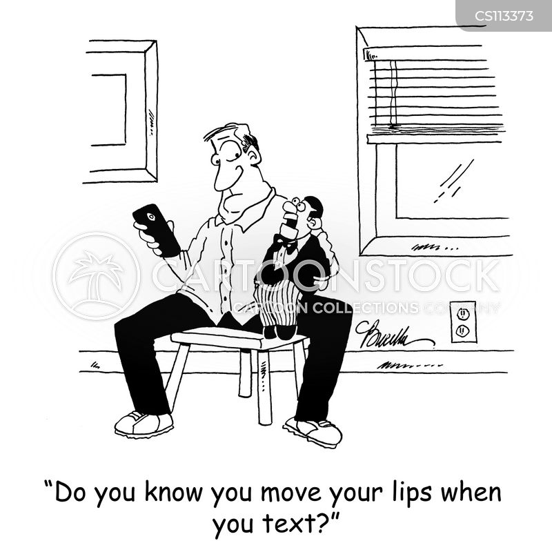 lip cartoon