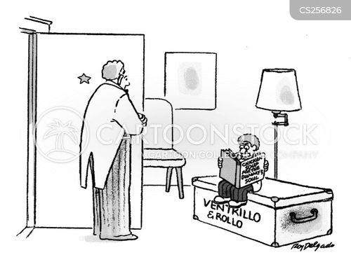 ventriloquists dummy cartoon