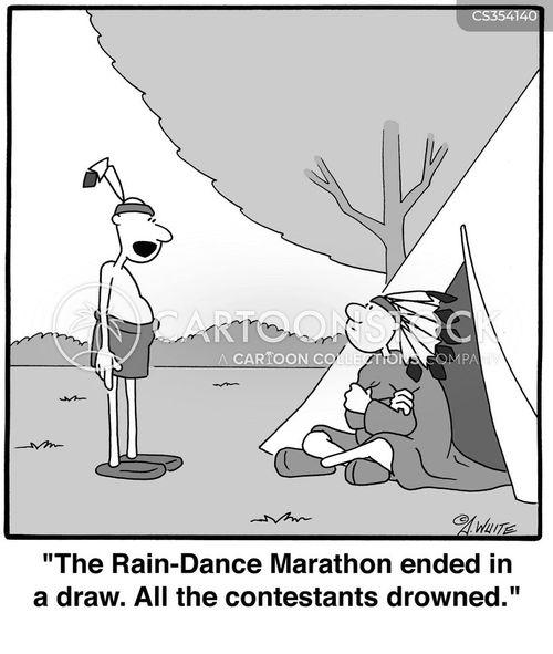 Dancing Cartoon Pictures Rain Dancing Cartoon 4 of 6