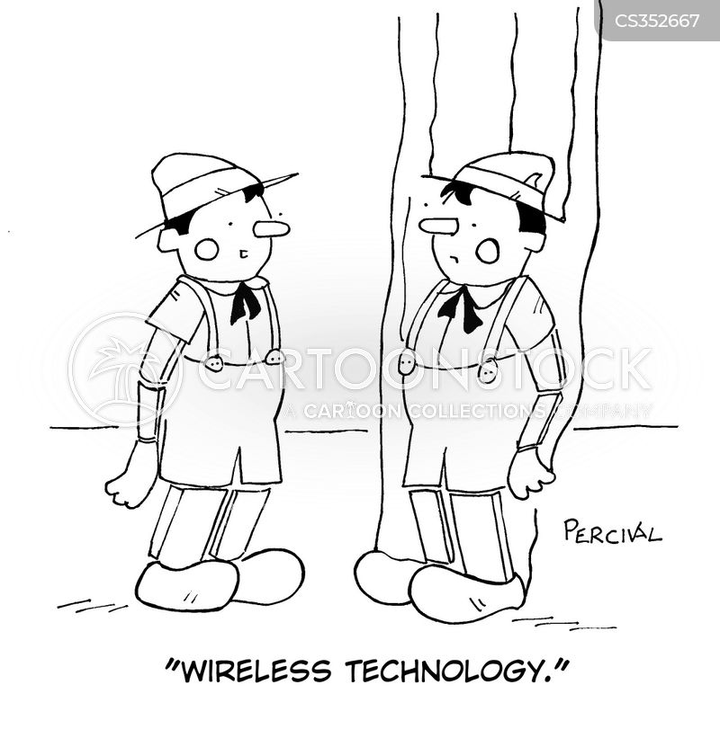 telecoms cartoon