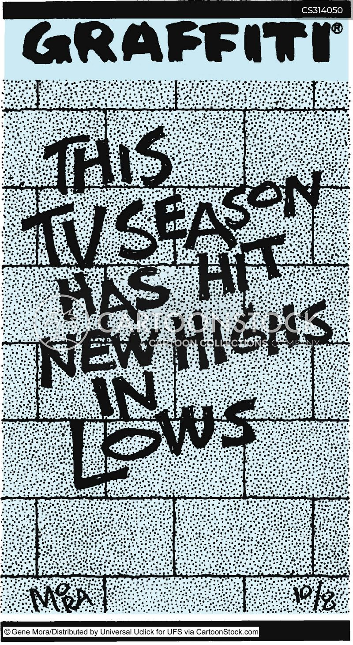 bad television cartoon