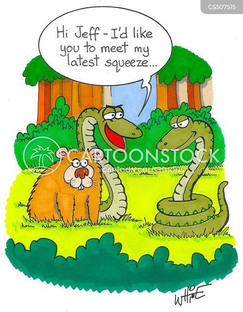 eco-system cartoon