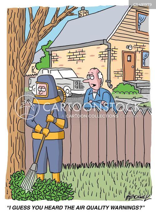 decontamination suit cartoon