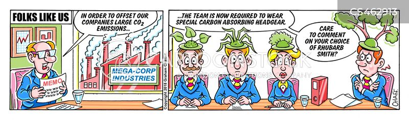 carbon offsetting cartoon