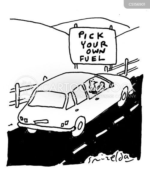 bio fuel cartoon