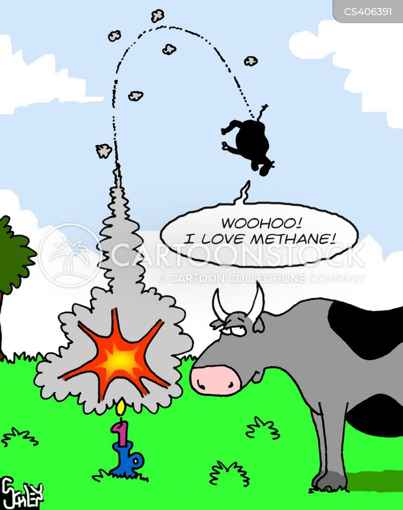 methane cartoon