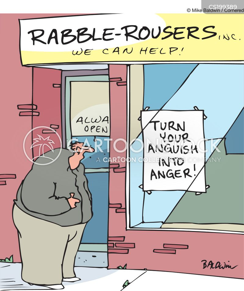 troublemakers cartoon