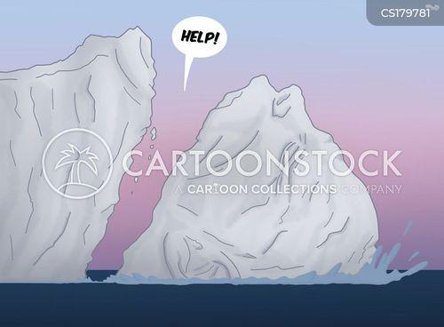 rising sea levels cartoon
