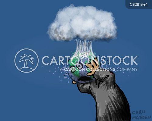 weapons of mass destructions cartoon