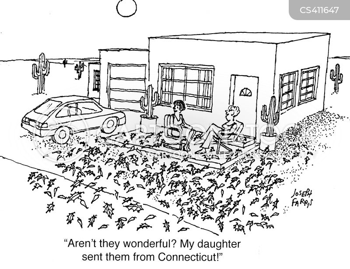 hot climate cartoon