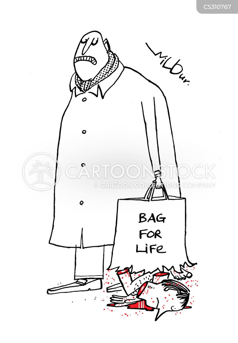 split bags cartoon