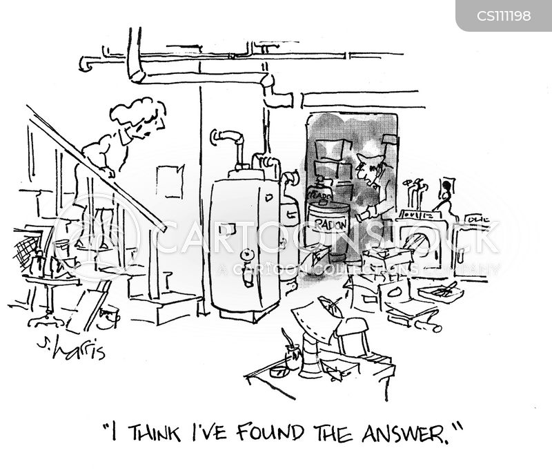 Radon Gas Cartoon 1 Of 2