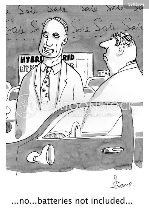 motorcar cartoon